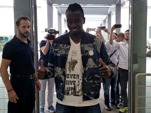 Blaise Matuidi, centrocampista di 30 anni. Epa