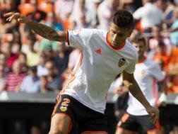 Joao Cancelo, 23 anni, difensore portoghese del Valencia. LAPRESSE