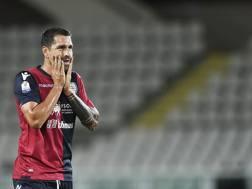Marco Borriello, 35 anni, 16 gol con il Cagliari la scorsa stagione. Lapresse