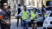 Le immagini dell'attentato a Barcellona Lapresse