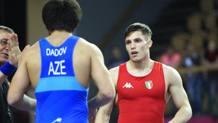Riccardo Abbrescia, 20 anni, nell'incontro perso con l'azero Dadov, risultato positivo all'antidoping