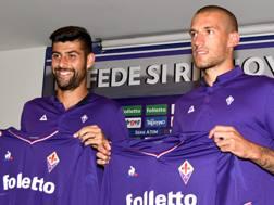 Marco Benassi e Cristiano Biraghi, cresciuti entrambi nella Primavera dell'Inter. Dal profilo Twitter della Fiorentina