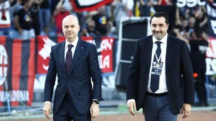 Marco Fassone, AD MIlan e Massimo Mirabelli, DS Milan. LaPresse
