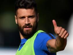 Antonio Candreva, 30 anni, esterno offensivo dell'Inter Getty