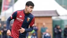 Pietro Pellegri, 16 anni, già in gol la scorsa stagione contro la Roma. Lapresse