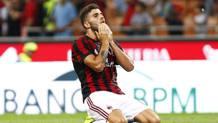 Patrick Cutrone, 19 anni, attaccante del Milan LaPresse