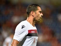 Marco Borriello, 35 anni, 16 gol lo scorso anno con il Cagliari. Lapresse