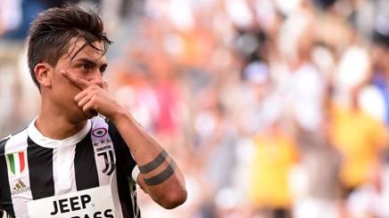 Paulo Dybala, primo gol in campionato. Getty