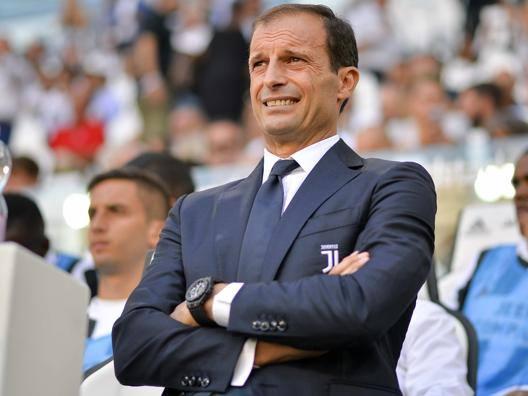 Massimiliano Allegri, 50 anni. LAPRESSE