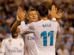 Kroos e Bale, entrambi a bersaglio. Reuters
