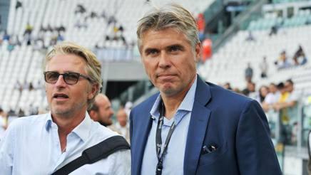 A destra il responsabile del progetto Var in Italia Roberto Rosetti, 49 anni. Ansa