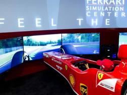 Il simulatore al Ferrari Store