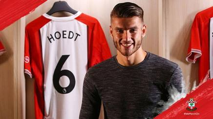 Wesley Hoedt, 23 anni. Twitter Southampton