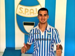 Federico Bonazzoli, la scorsa stagione al Brescia in Serie B. Dal profilo Twitter della Spal