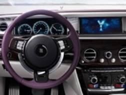 Gli interni della Rolls Royce Phantom