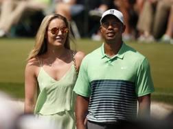 Lindsey Vonn e Tiger Woods ai tempi della loro relazione. Reuters