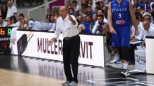 Ettore Messina, 57 anni, chiuderà con la Nazionale dopo l'Europeo. Ciam/Cast