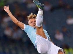 Ciro Immobile, 27 anni, attaccante della Lazio LaPresse