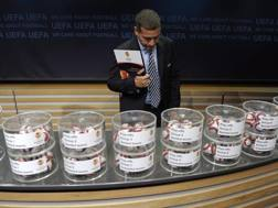 Le urne di Nyon: domani sorteggio Europa League. Epa