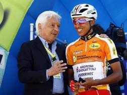 Egan Bernal, 20 anni. Bettini