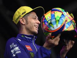 Valentino Rossi, nove titoli iridati. Getty