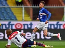 Patrich Schick, 21 anni, 11 reti con la Sampdoria la scorsa stagione. Ansa