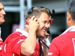Sebastian Vettel, quattro titoli iridati. Lapresse