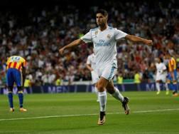 Marco Asensio, doppietta al Bernabeu. Reuters