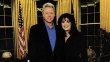 Bill Clinton con la stagista Monica Lewinsky nello Studio Ovale