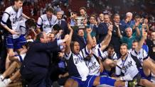 A Parigi l'Italia di Tanjevic torna sul tetto d'Europa dopo 16 anni superando in finale la Spagna per 64-56. Ciamillo e Castoria