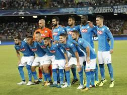 Il Napoli al San Paolo per il preliminare di Champions contro il Nizza.