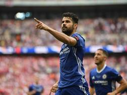 Diego Costa, a Londra dal 2014. Getty Images