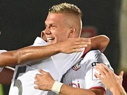 Giancarlo Malcore, 23 anni, in gol nella prima giornata di Serie B LaPresse