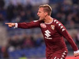 Maxi Lopez, 33 anni, attaccante dell'Udinese. LaPresse