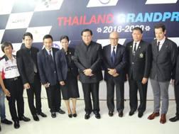 La presentazione del GP di Tailandia