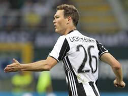 Stephan Lichtsteiner, terzino della Juventus. Ansa