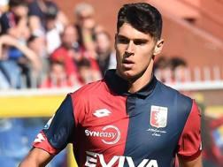 Pietro Pellegri, 16 anni, attaccante Genoa.  LaPresse