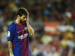 Lionel Messi, attaccante del Barcellona. LaPresse