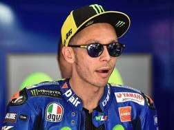 Valentino Rossi, 38 anni, 9 titoli iridati. Afp