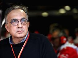 Il presidente Ferrari Sergio Marchionne a Monza. Getty