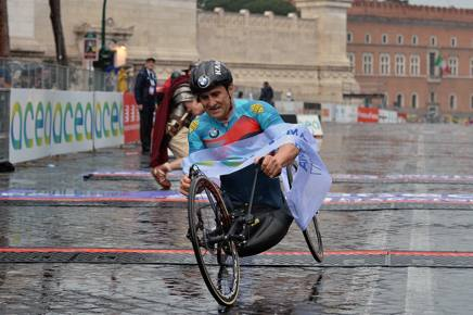 Alex Zanardi in una immagine di repertorio