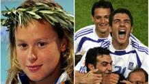 Federica Pellegrini e la gioia incontenibile della Grecia campione d'Europa
