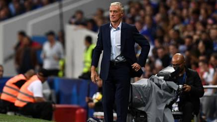 Didier Deschamps, ct della Francia. Afp