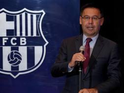Josep Maria Bartomeu, 54 anni, presidente del Futbol Club Barcelona REUTETRS