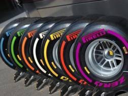 Le mescole Pirelli per la F.1