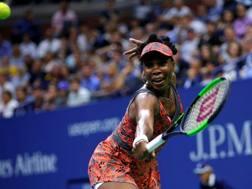 Venus Williams, 37 anni, ha vinto gli Us Open nel 2000 e nel 2001 AFP