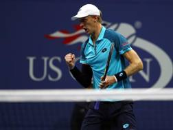 Kevin Anderson, 31 anni, prima semifinale Slam in carriera Afp