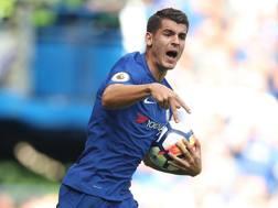 Alvaro Morata, acquisto top del Chelsea. LaPresse