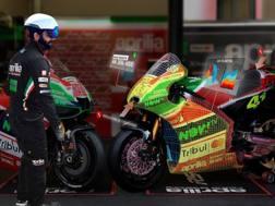 La Realtà Aumentata ai box Aprilia MotoGP