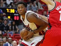 Hassan Whiteside, 28 anni, Miami Heat. AP